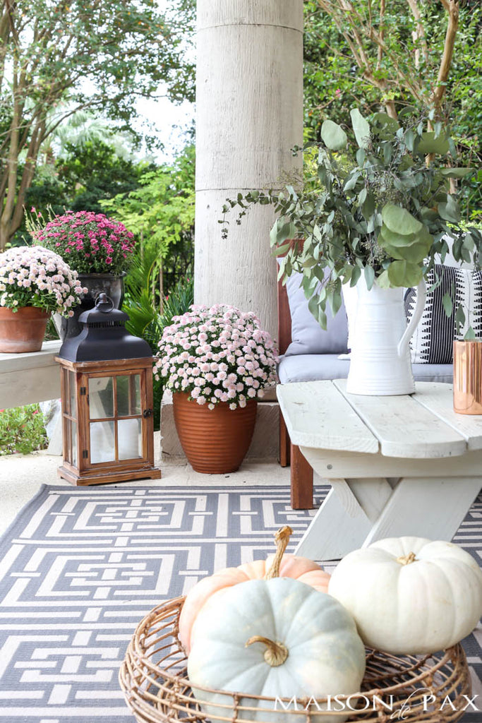 Fall Porch Decorating Ideas - Pretty Collected