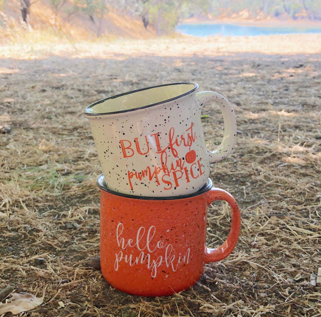 But First Pumpkin Spice Mug - Pretty Collected Fall Mugs