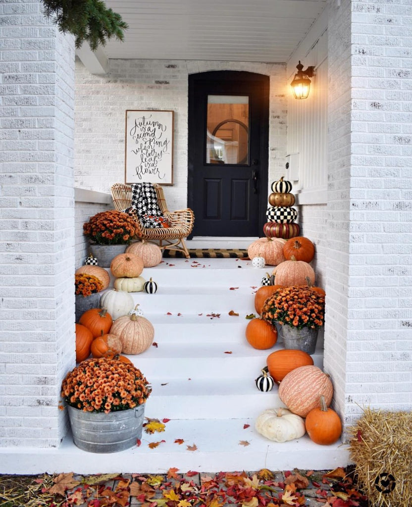 How to Decorate Your Porch for Fall - Pretty Collected