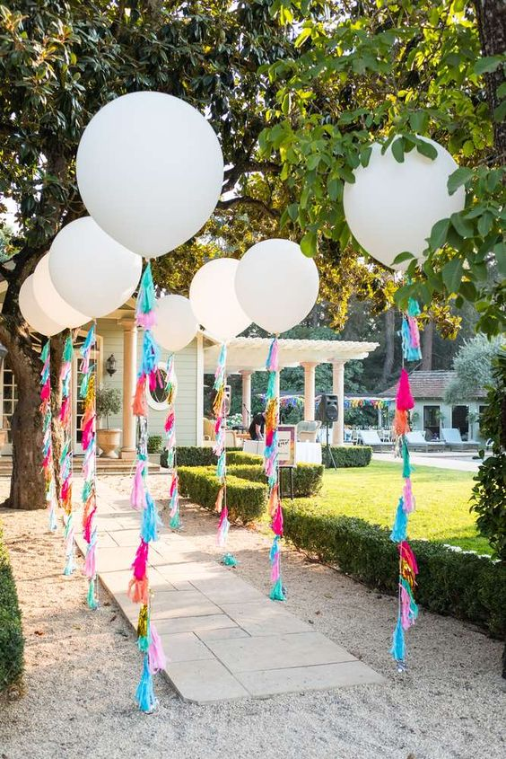 Fiesta Bridal Shower Decor - Fiesta Party Decorations - Cinco de Mayo Decoration Ideas