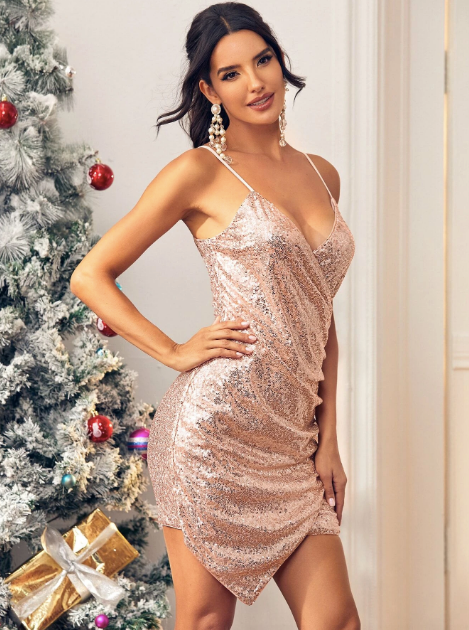 Gold Dress - Party Dress - New Years - New Years Dresses