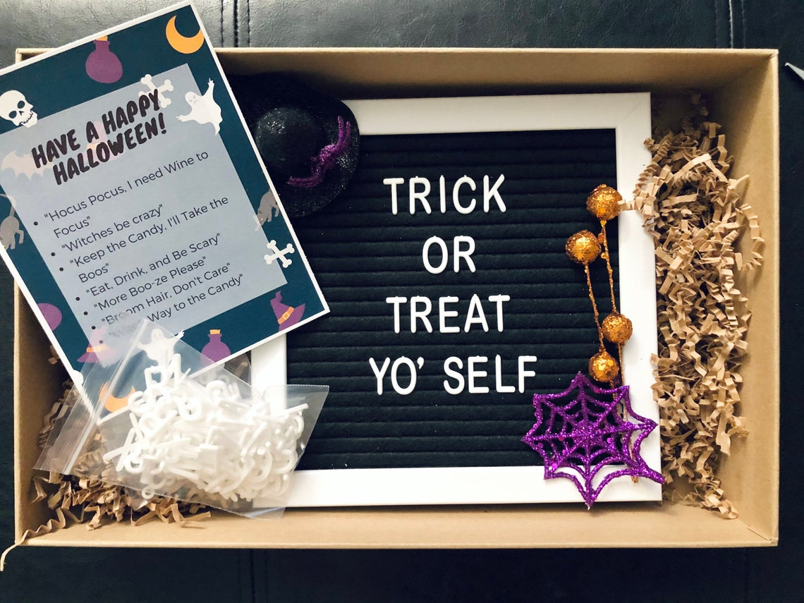 Halloween Letter Board Indoor Decoration | Halloween Home Decor | Fall Letter Board Sign