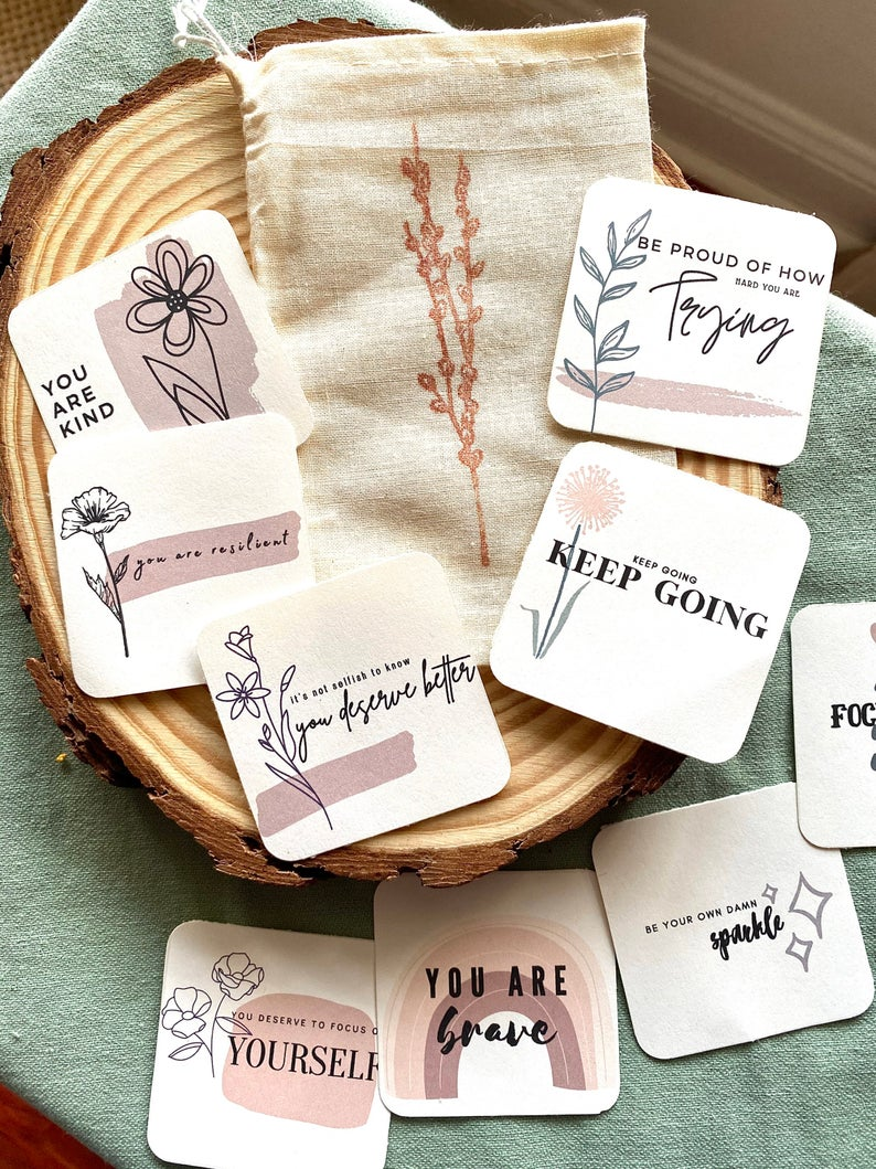 Happy Notes - Encouragement Cards - How to be positive - Positive Cards