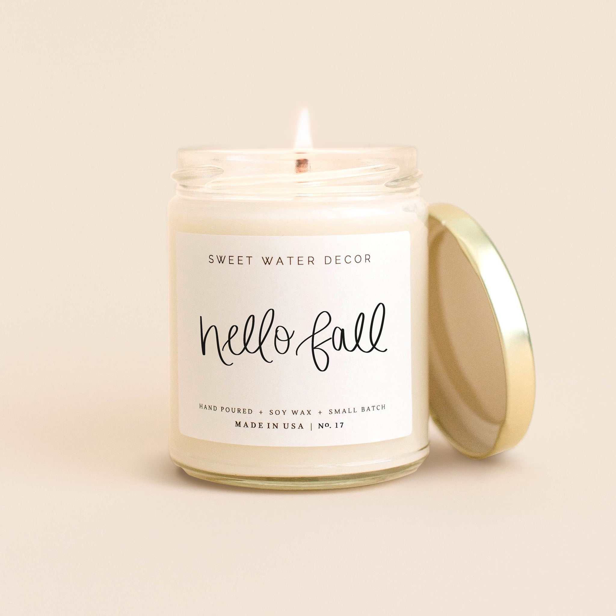Etsy Fall Candle
