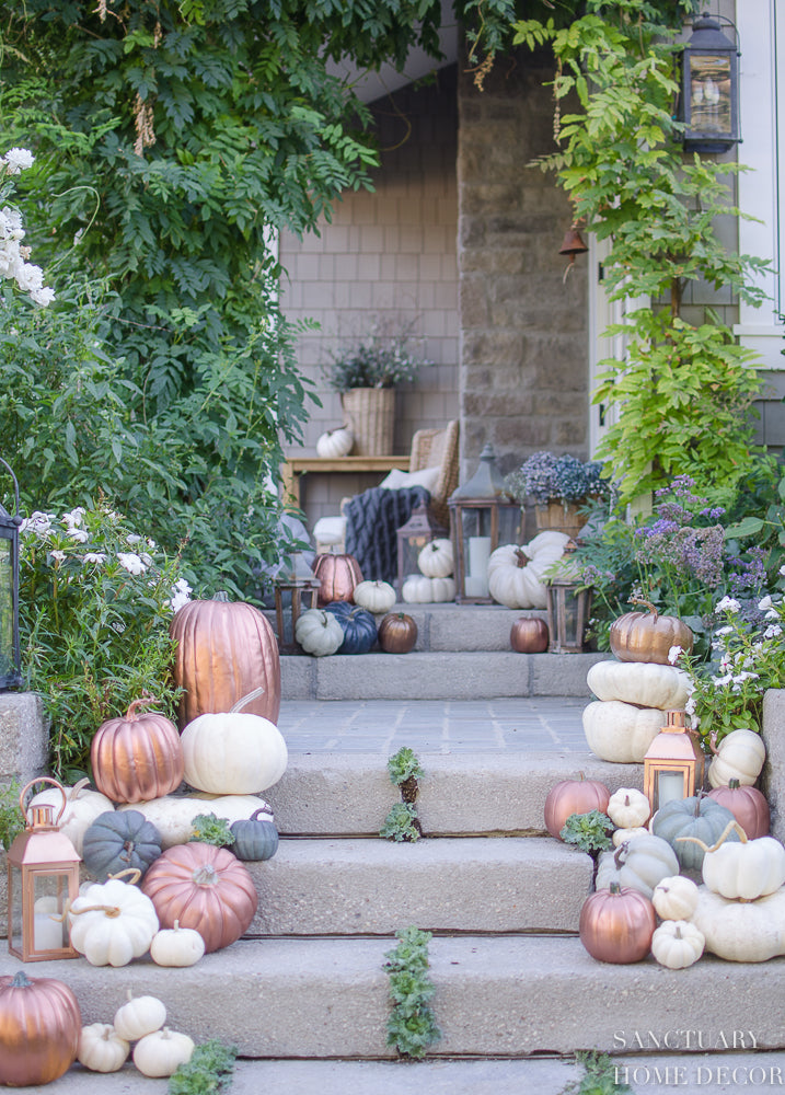 Fall Porch Decorating Tips - Pretty Collected