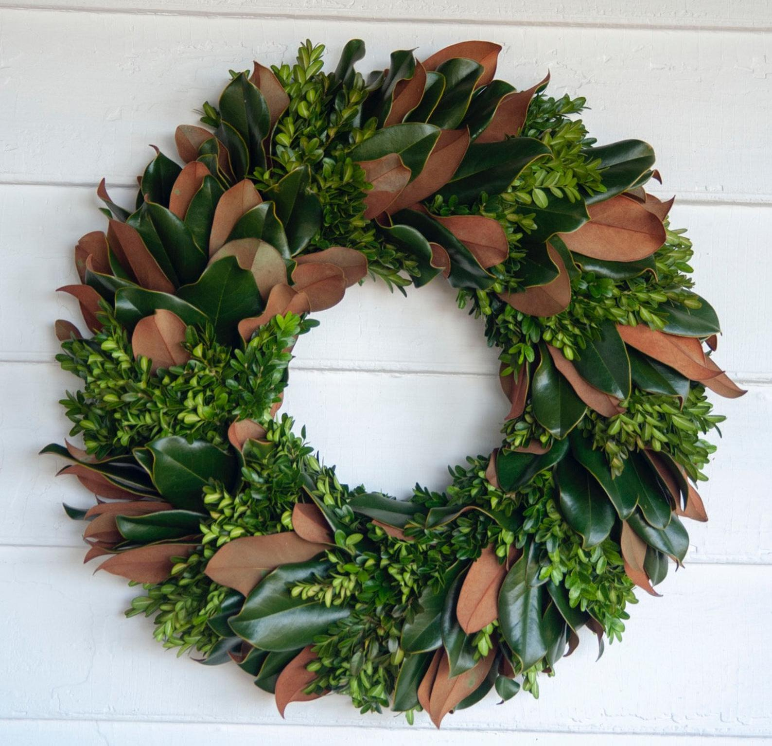 Magnolia Wreath - Fall Wreath - Autumn Wreath - Fall Decor
