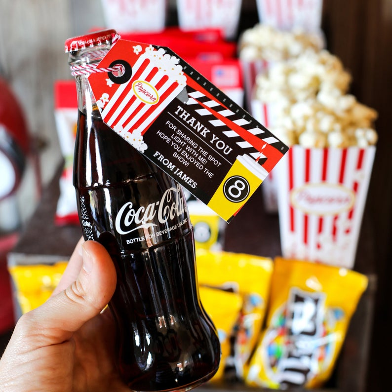 Movie Night Party Concession Stand | Movie Night Candy and Soda Store
