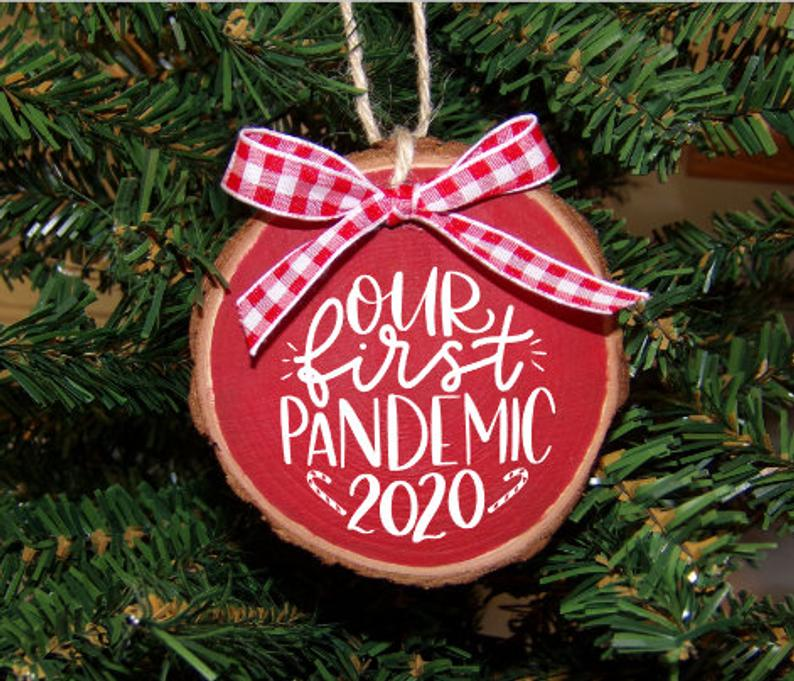 Our First Pandemic Christmas Ornament, Pandemic Ornament, Christmas Ornament, 2020 Ornament, Funny Christmas Ornament, Toilet Paper Ornament
