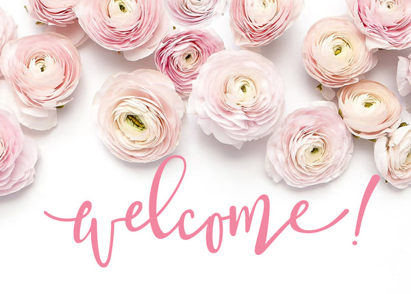 Site Launch Welcome Pretty Collected