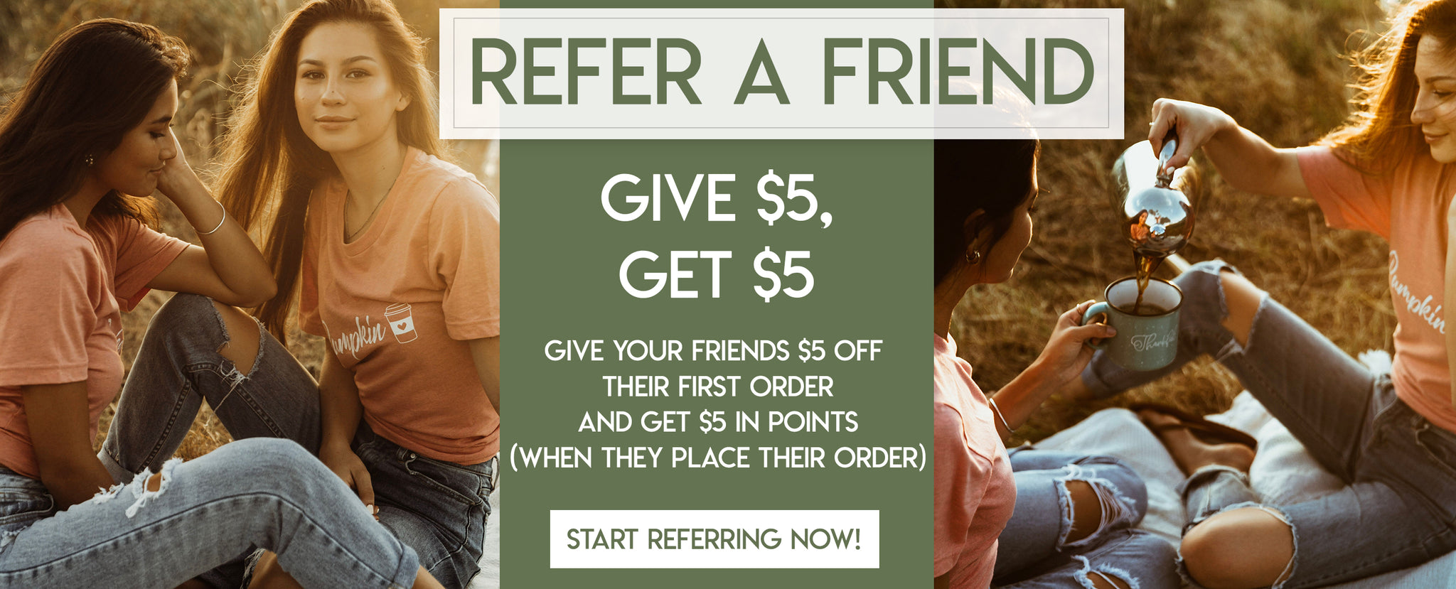 Refer a Friend - Give $5 Get $5 - Pretty Collected