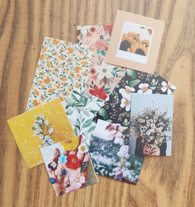 Scrapbook Supplies / Embellishments / Quote and Picture Cards
