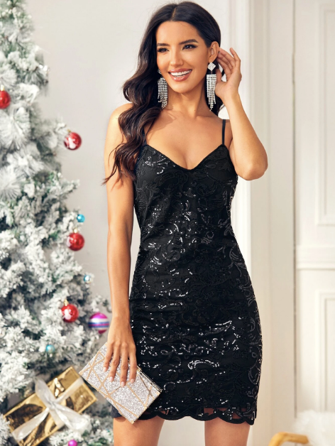 Black Dress - Party Dress - New Years - New Years Dress