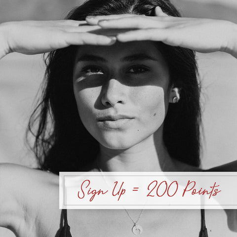 Pretty Collected Rewards Program - Sign Up for 200 Points