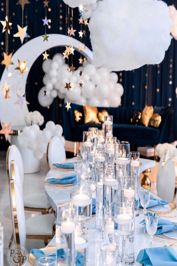 Twinkle Twinkle Little Star Baby Shower Decor - Winter Baby Shower Themes