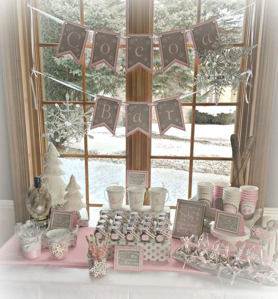 Baby It's Cold Outside Baby Shower Decor