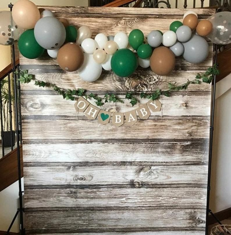 Woodland Baby Shower Picture area Etsy