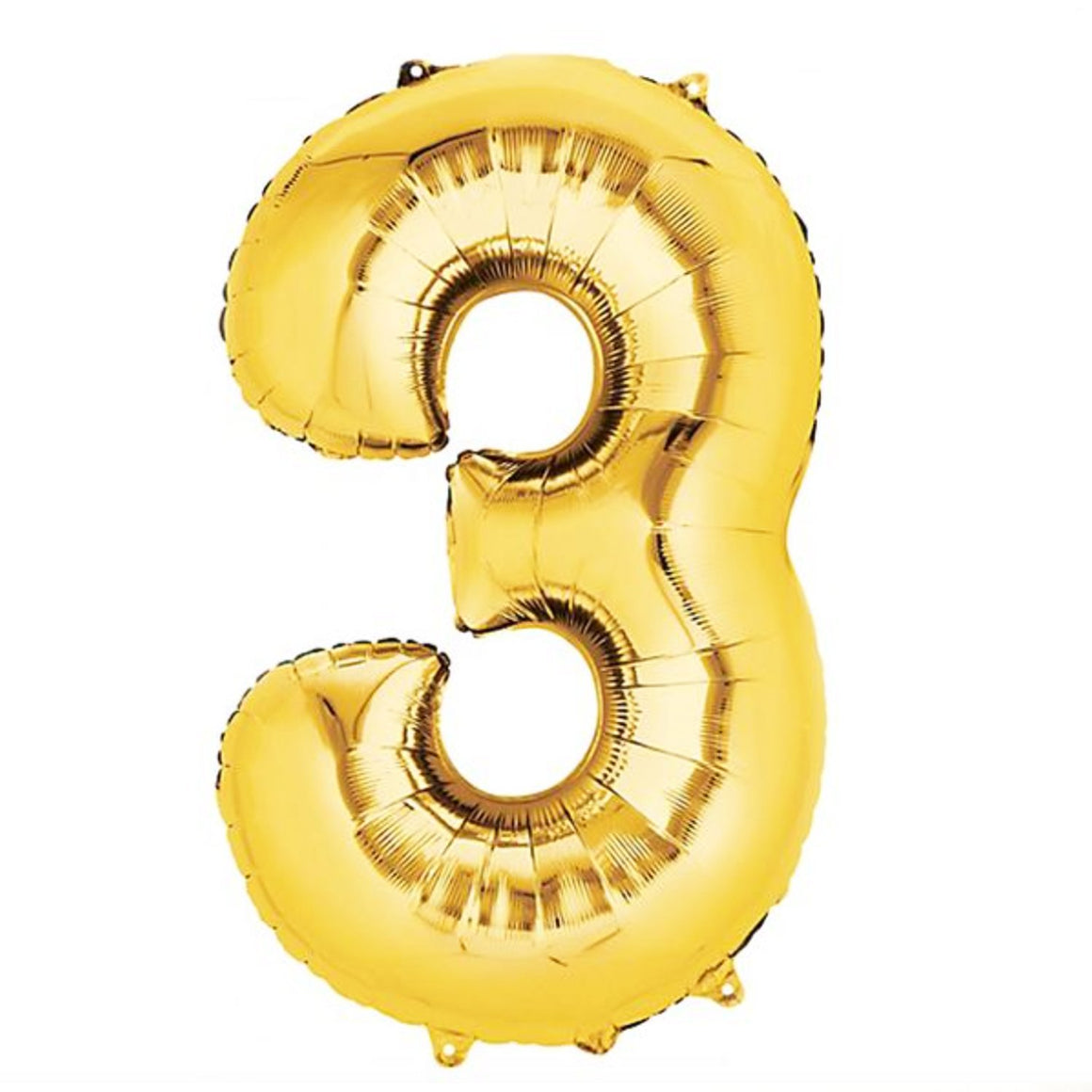 Gold Foil Number Balloons - Pretty Collected