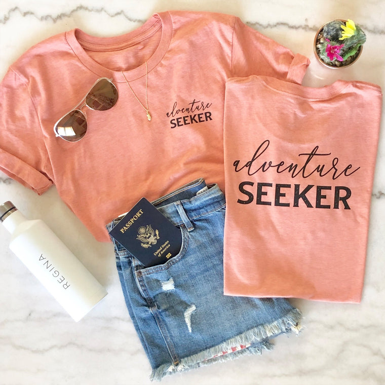 Adventure Seeker Tee - Pretty Collected