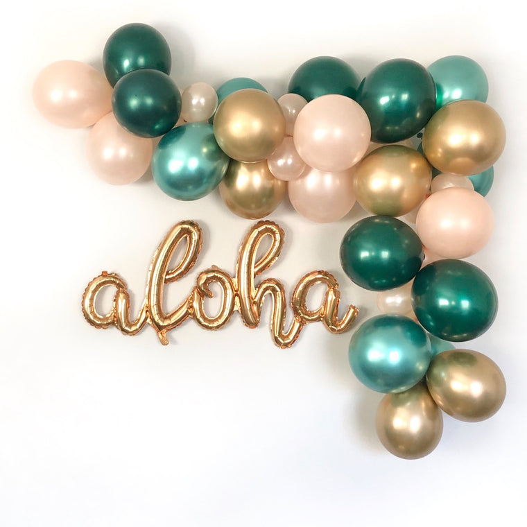 Aloha Tropical Balloon Garland Kit - Pretty Collected