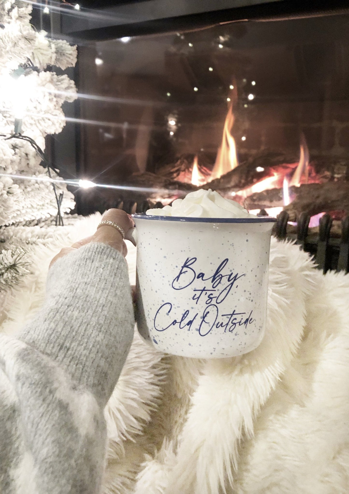 Baby, It's Cold Outside Campfire Mug - Pretty Collected