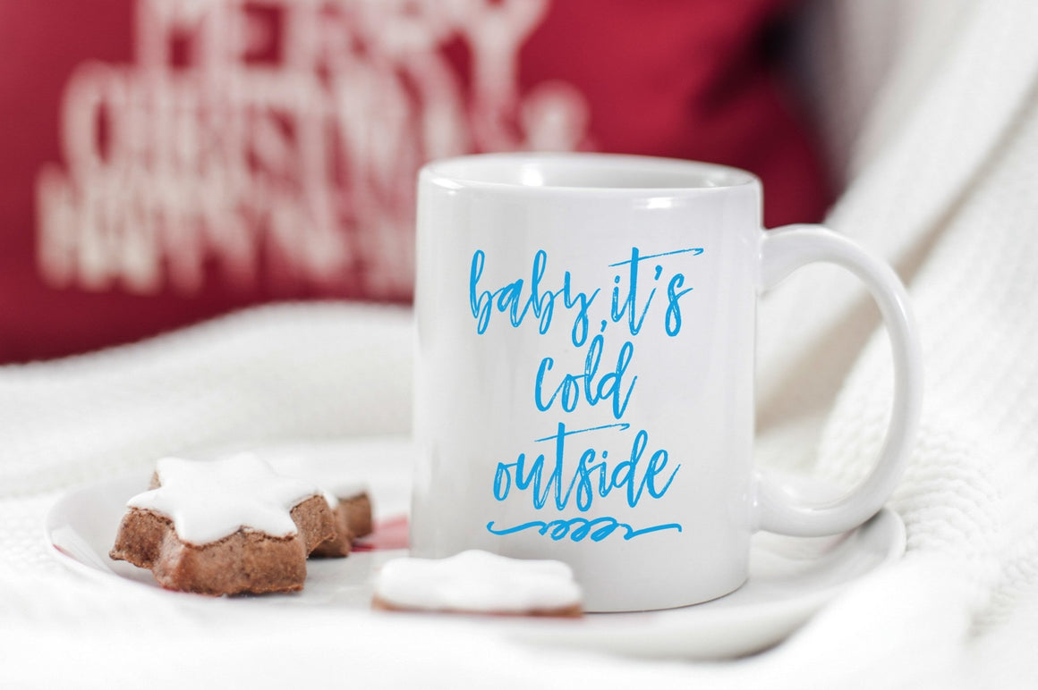 Baby, It's Cold Outside Mug - Pretty Collected