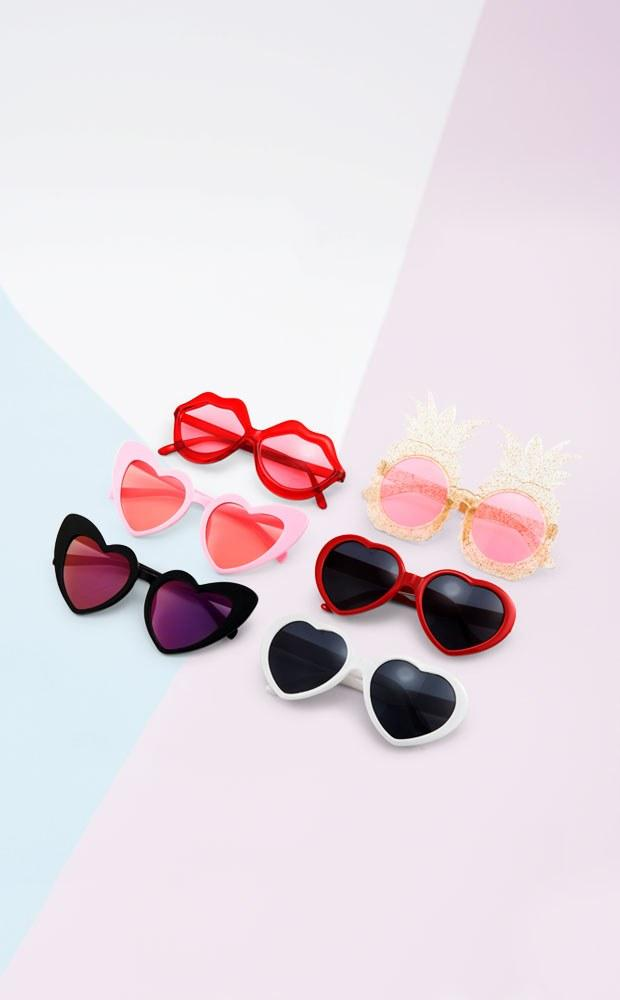 Pink Heart Sunglasses - Pretty Collected