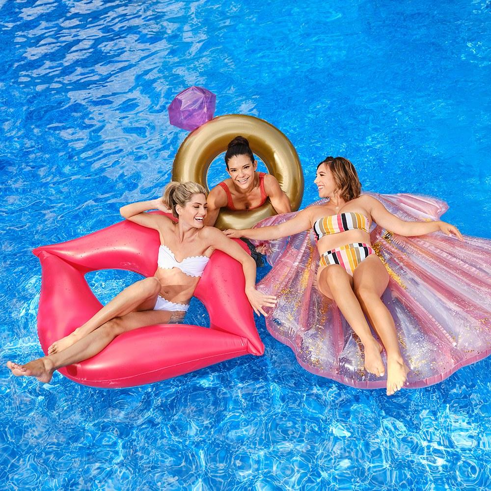 Engagement Ring Pool Float - Pretty Collected