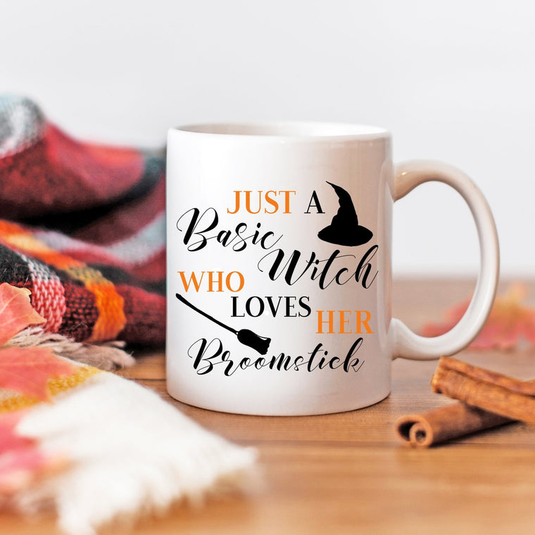 Basic Witch Mug - Pretty Collected