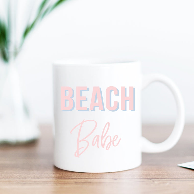 Beach Babe Mug - Pretty Collected