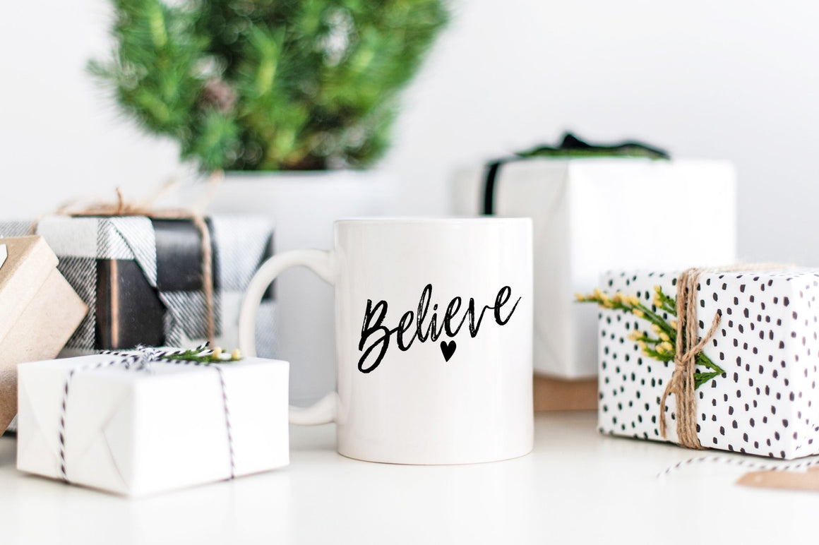 Believe Mug - Pretty Collected