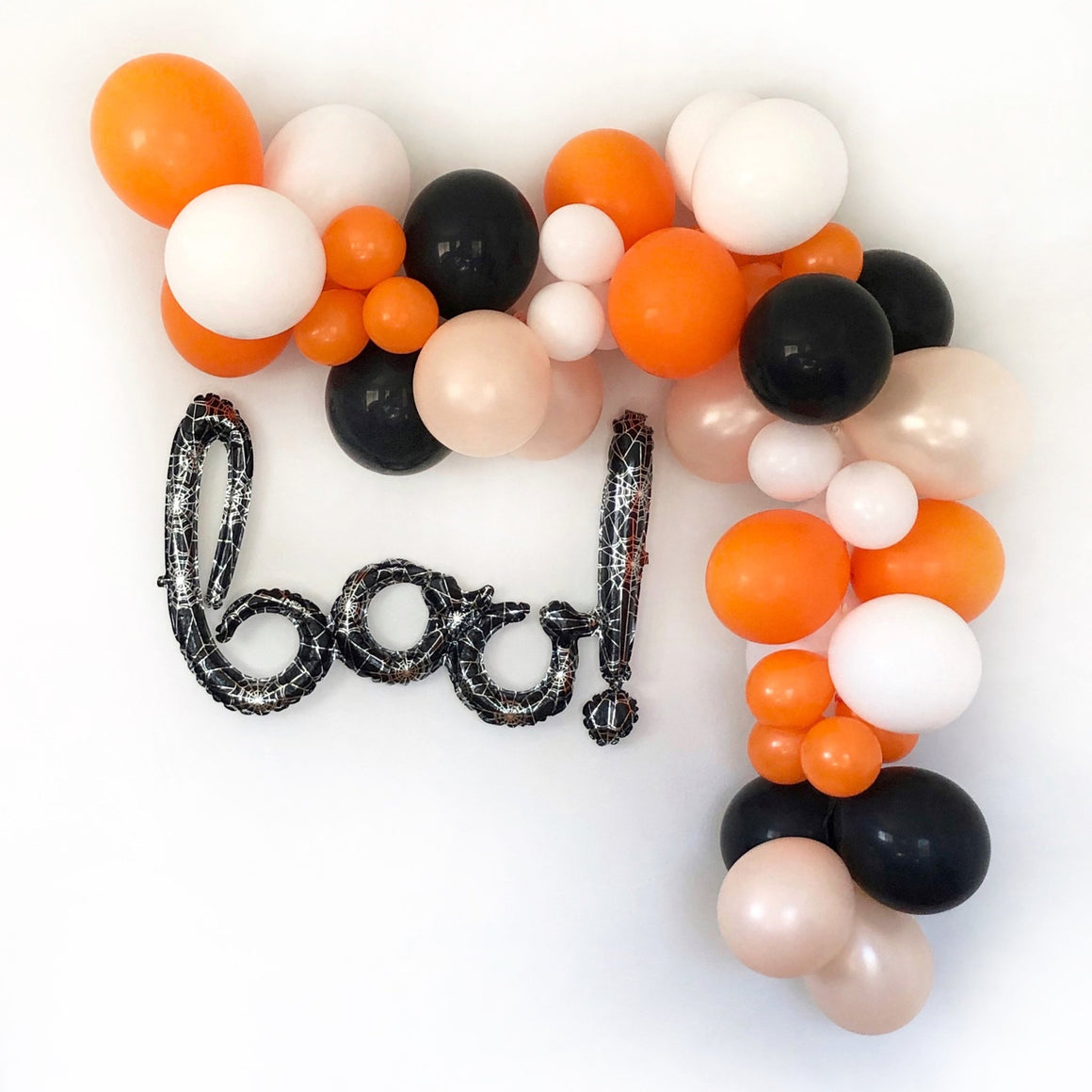 Boo Halloween Balloon Garland Kit - Pretty Collected