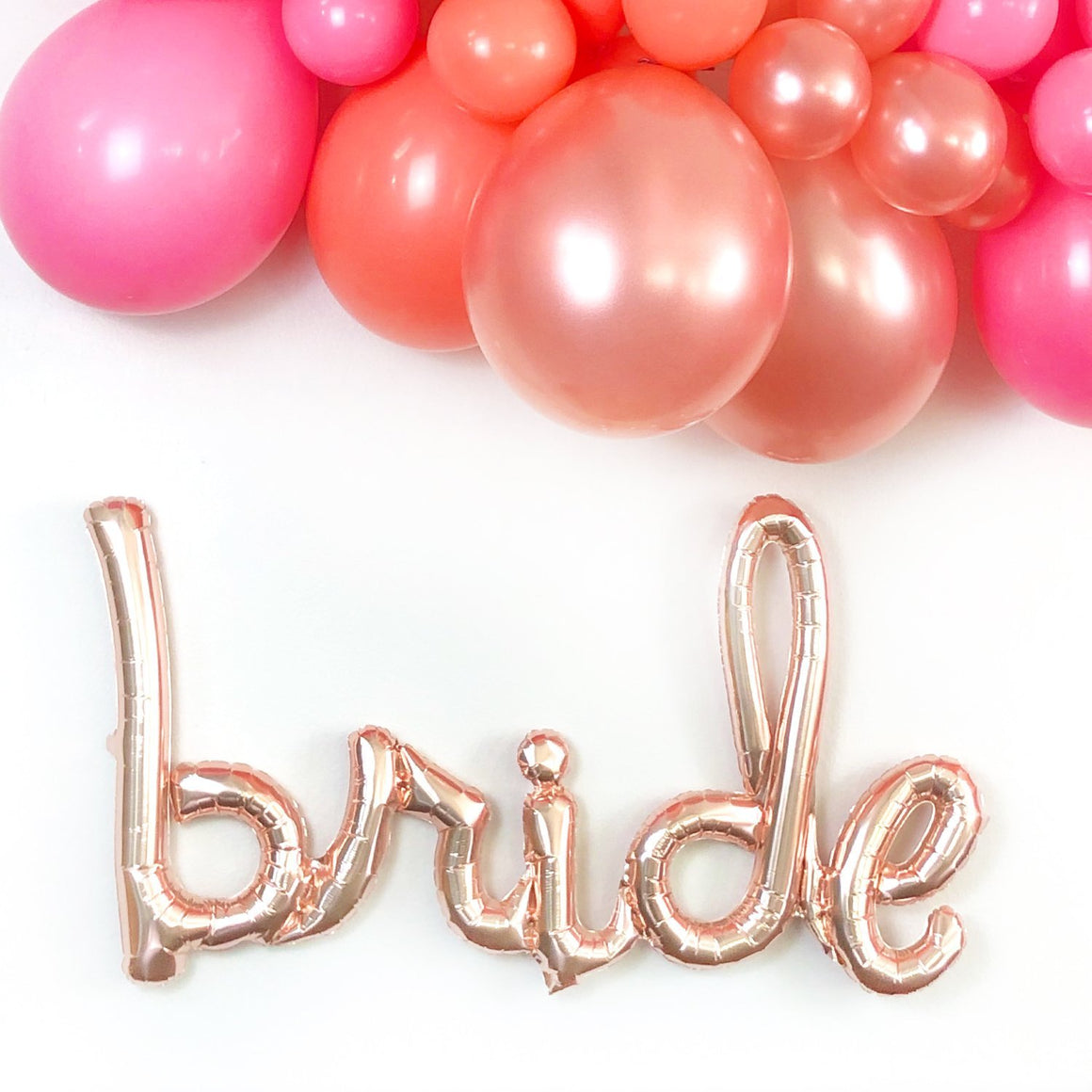 Bride Balloon - Rose Gold - Pretty Collected