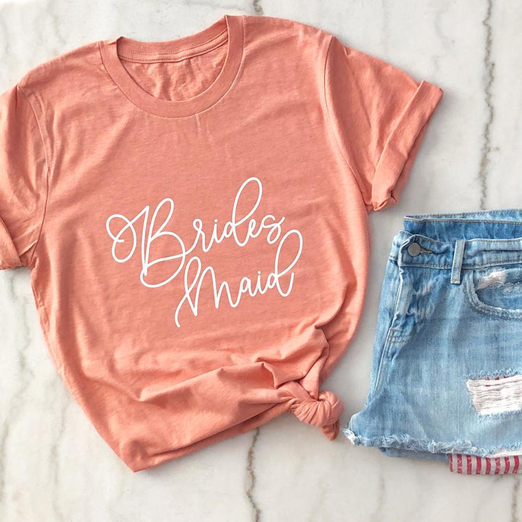 Bridesmaid Tee - Pretty Collected