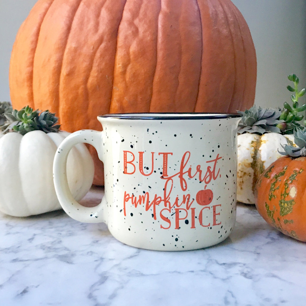 But First, Pumpkin Spice Campfire Coffee Mug - Pretty Collected