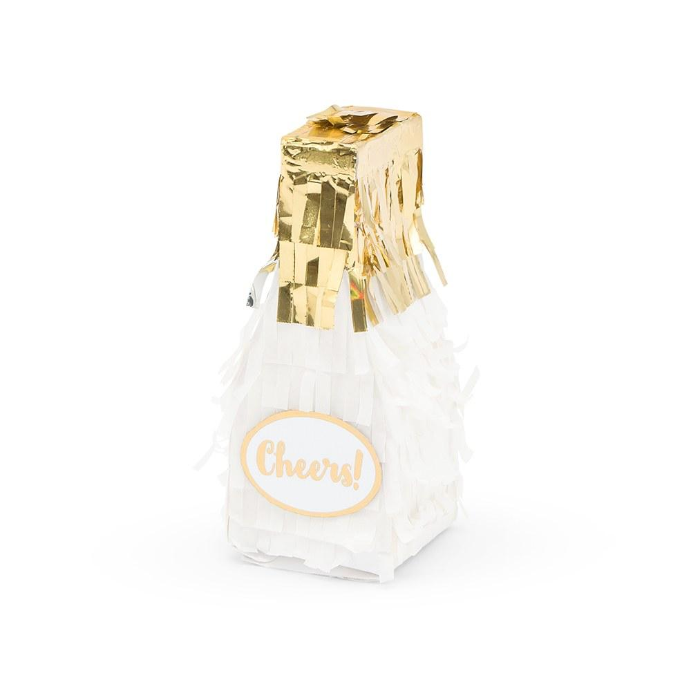 Mini Champagne Bottle Pinata Favors - Set of 3 - Pretty Collected
