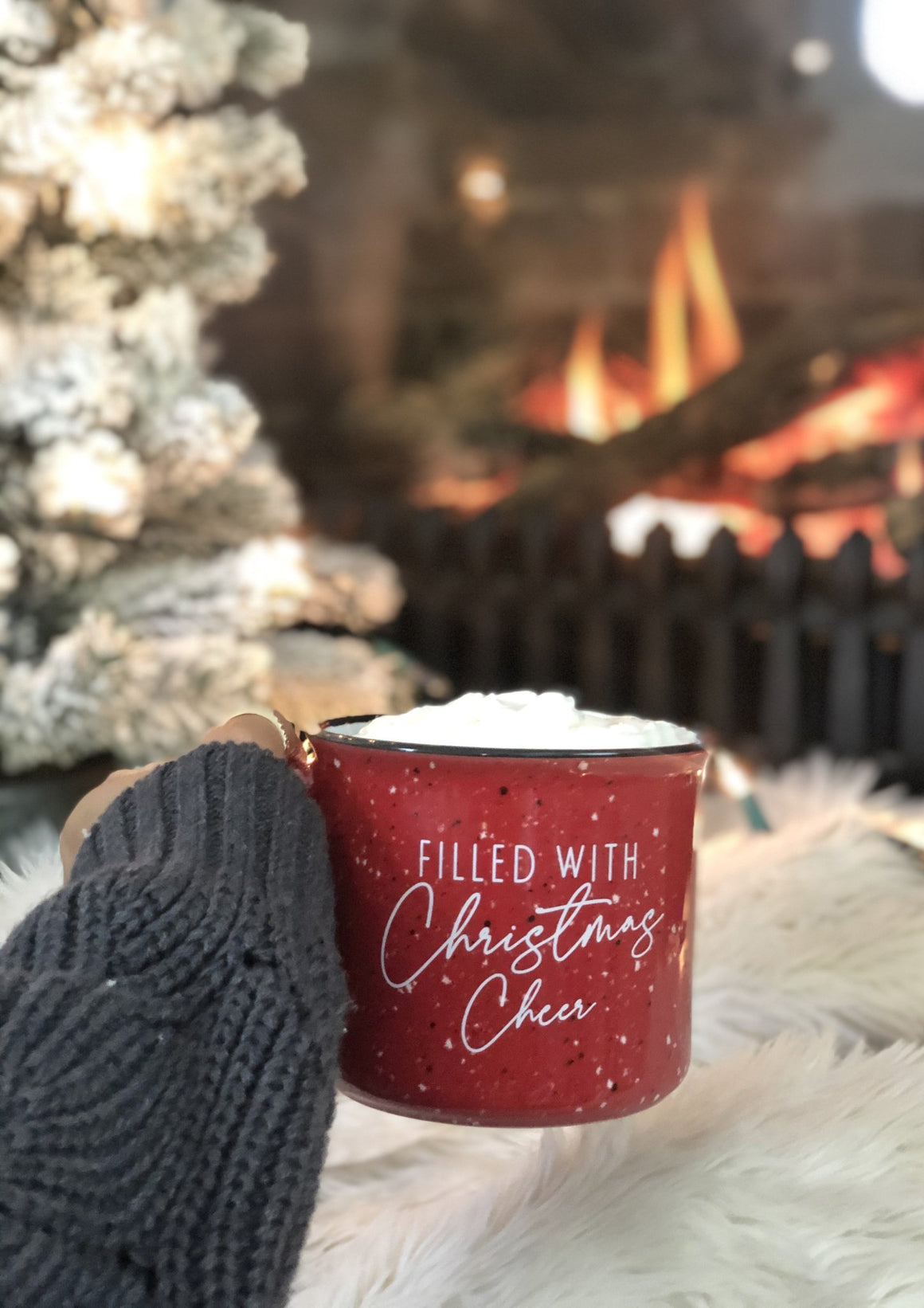 Filled with Christmas Cheer Campfire Mug - Pretty Collected