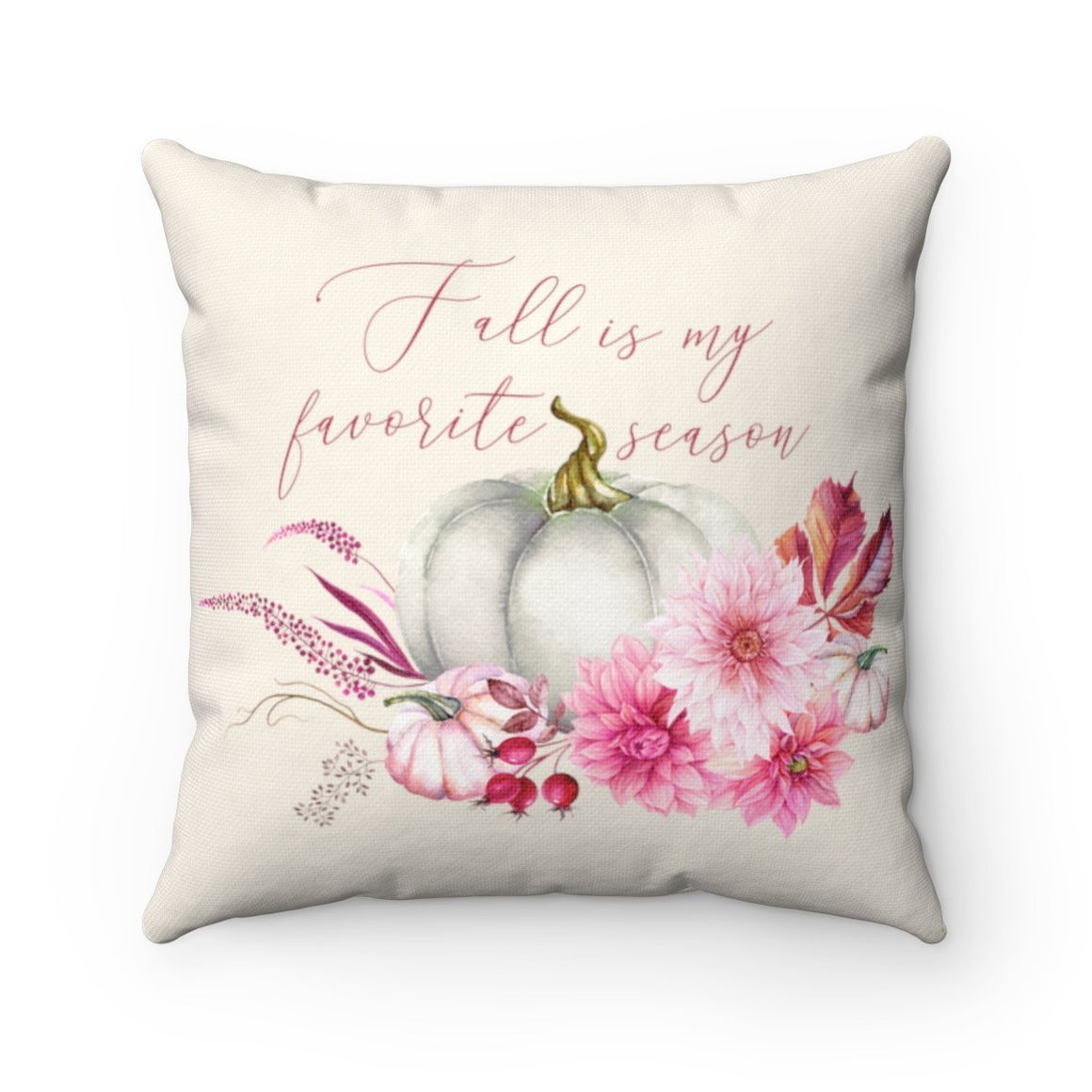 Fall is my Favorite Season Pillow - Pretty Collected
