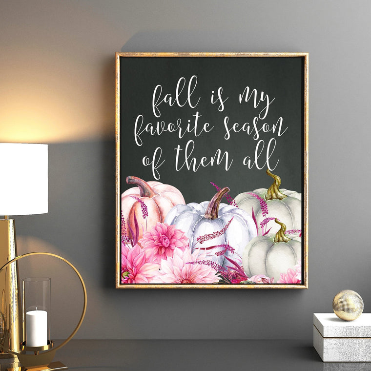 Fall is My Favorite Season of Them All Printable - Pretty Collected
