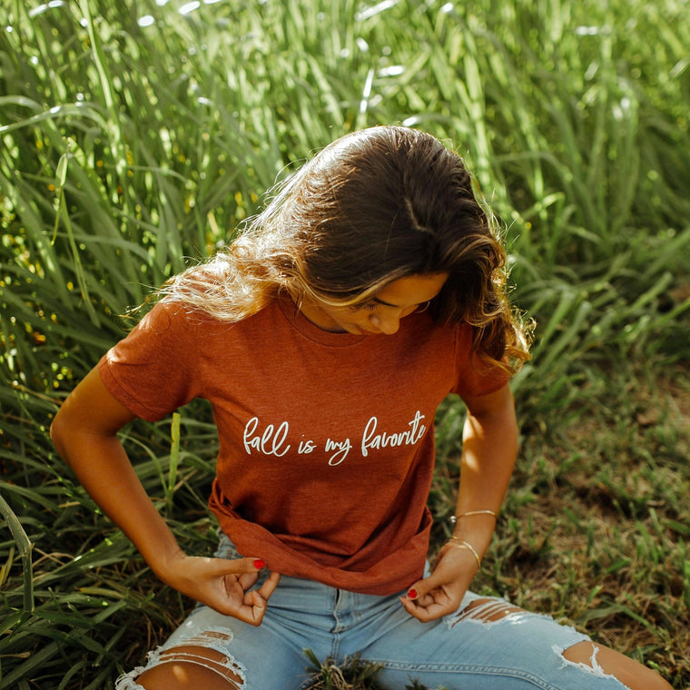 Fall Is My Favorite Tee - Pretty Collected