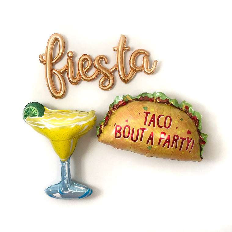 Margarita & Taco Balloons - Pretty Collected