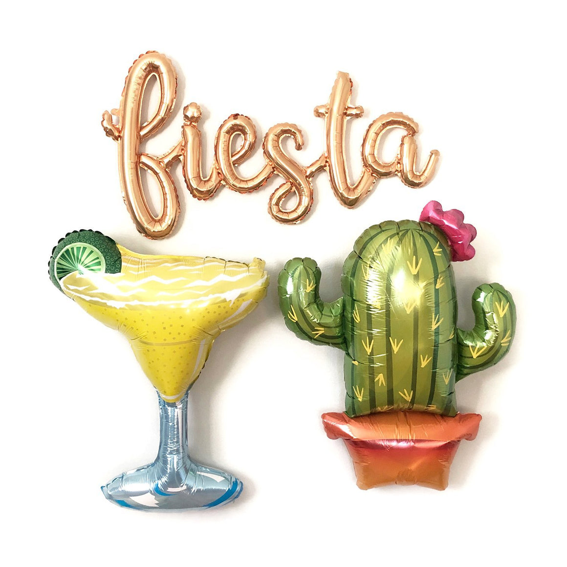 Fiesta, Margarita & Cactus Balloons - Pretty Collected