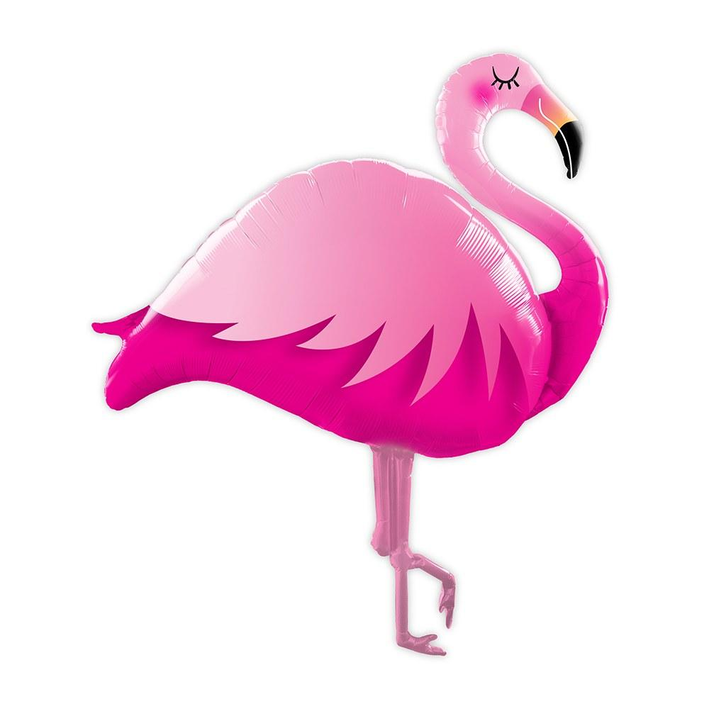 Flamingo Balloon - Pretty Collected