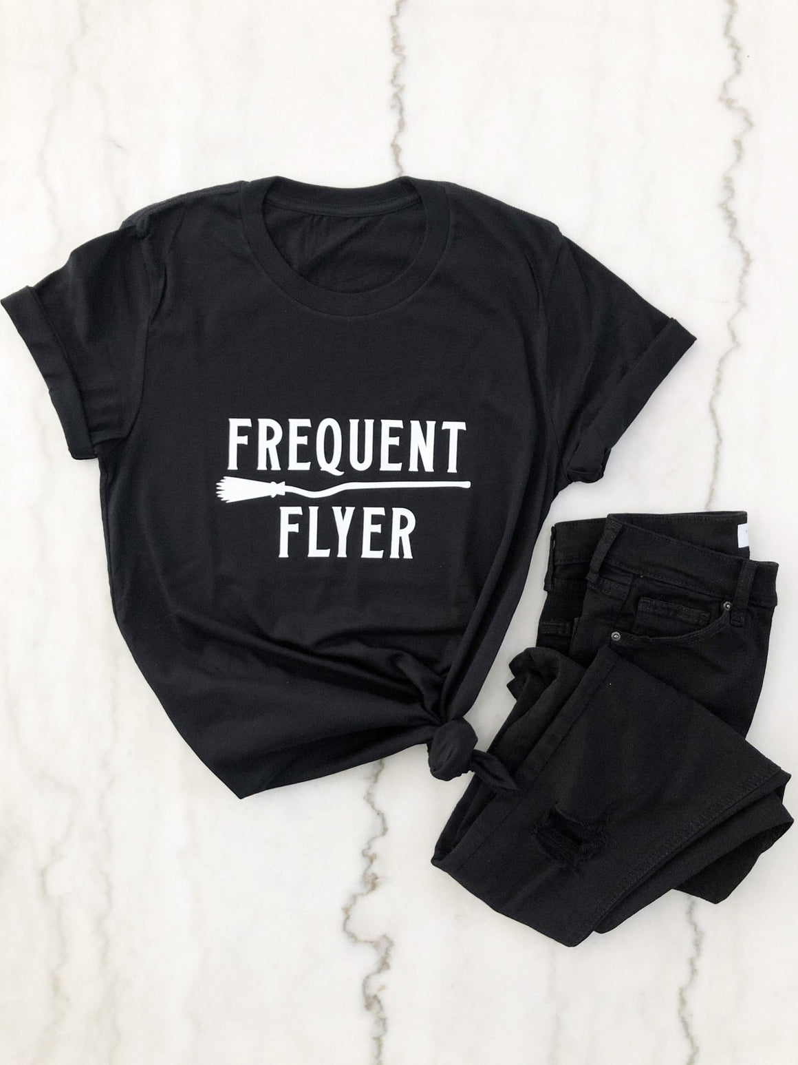 Frequent Flyer Tee - Pretty Collected