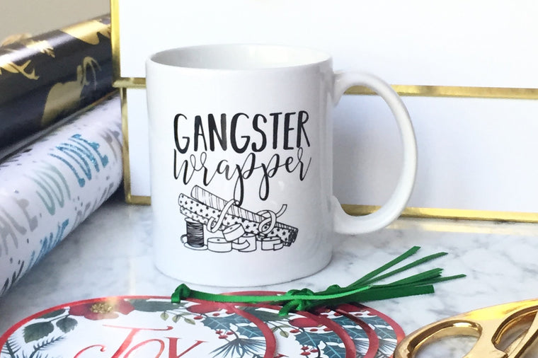 Gangster Wrapper Mug - Pretty Collected