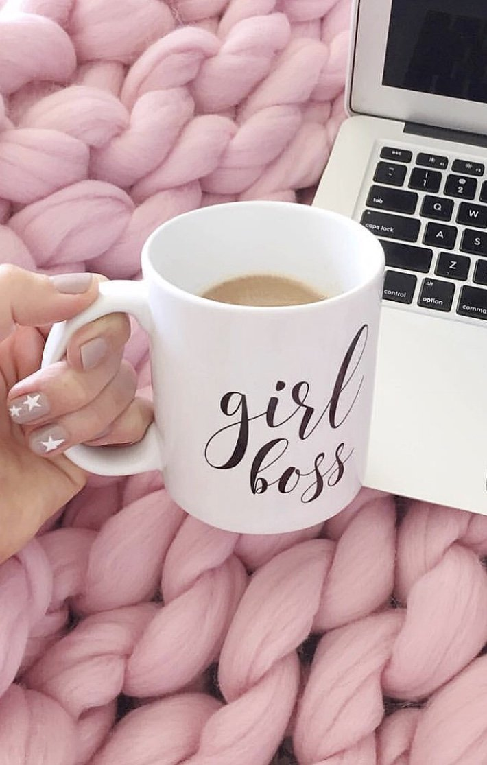 Girl Boss Mug - Pretty Collected