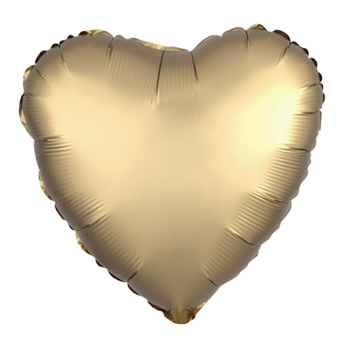 Gold Heart Balloon - Pretty Collected