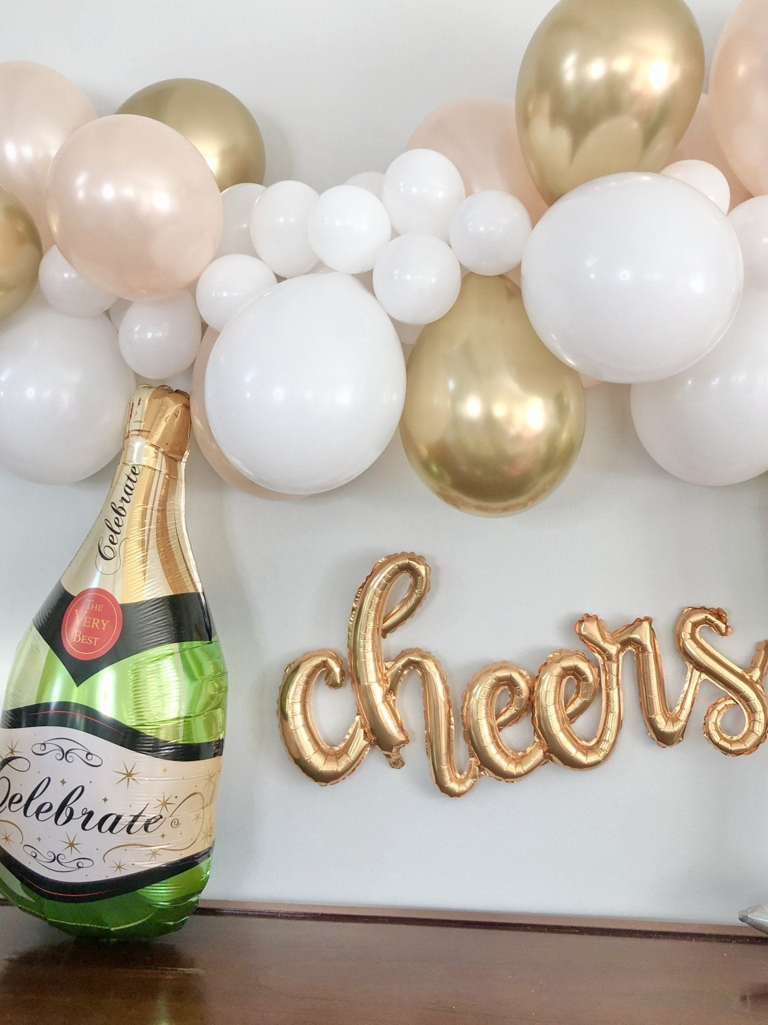Champagne Bottle Balloon Graduation Champagne Balloon Engagement Party Bachelorette Party Decor Bridal Shower Birthday Decorations