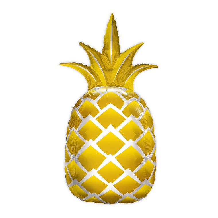 Gold Pineapple Foil Balloon - Pretty Collected