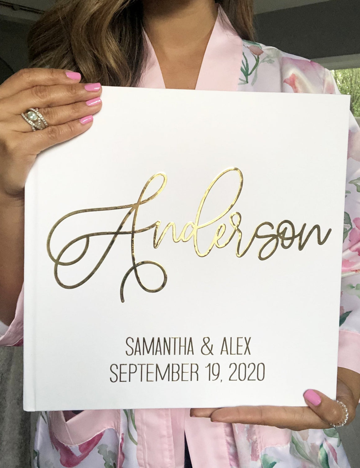 Gold Wedding Guest Book - The Anderson - Pretty Collected