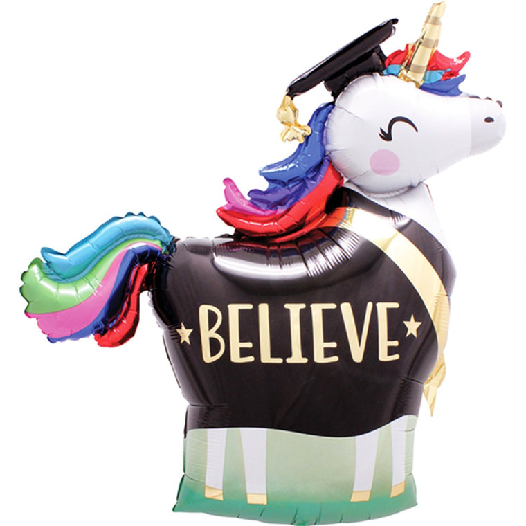 Unicorn Graduation Balloon - Pretty Collected
